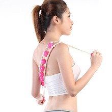 1Pcs Roller Manual Massage Belt Muscle Arm Leg Waist Body Massage Health Care Back Thin Waist Massage Device C768