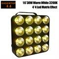 Бесплатная доставка TIPTOP TP-M16 белый Светодиодный точечный матричный свет 16x30 Вт COB лампа DMX 32/16/12/3 DMX каналы Blinder сценический свет