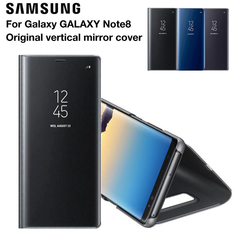 Samsung Original Vertical Mirror Protection Shell Phone Cover Phone Case for Samsung Galaxy Note8 N950F N9500