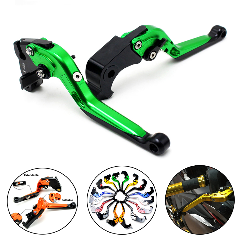 Motorcycle CNC adjuster Clutch Brake Levers clutch leverFor KAWASAKI  ZX6R/636 2007-2016 ZX10R 2006-2015 Z750R 2011-2012 the new motorcycle bike 2006 2007 2008 2009 2010 2011 kawasaki zx 10r zx10r zx 10r knife brake clutch levers cnc