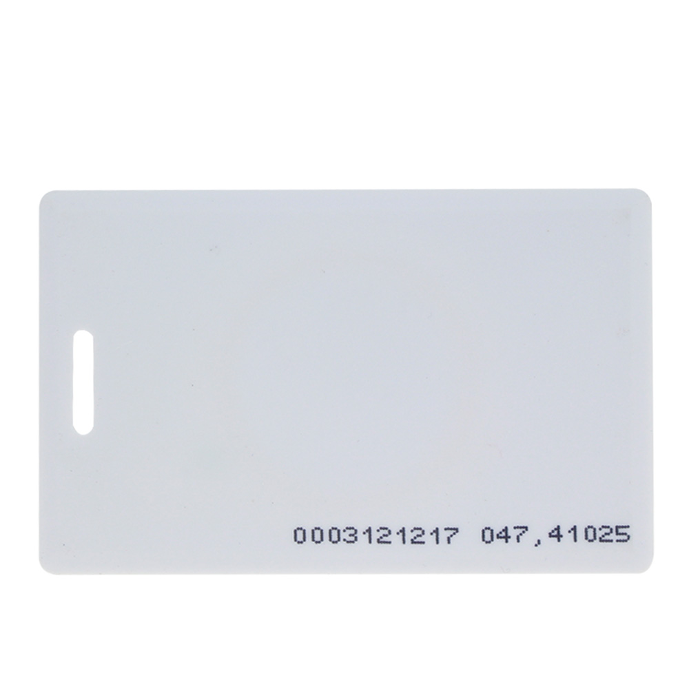 OBO HANDS 125Khz EM4100 TK4100 Door Entry Access Blank White Proximity RFID Clamshell Thick Card (Thickness 1.9mm pack of 10)