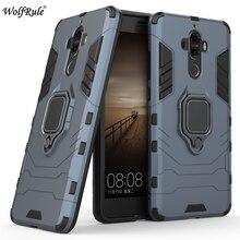 """Чехол WolfRule Huawei Mate 9, жесткий чехол из ТПУ для Huawei Mate 9, чехол с кольцом держателем, Магнитный защитный чехол для Huawei Mate 9, чехол для телефона 5,9 """"}"""
