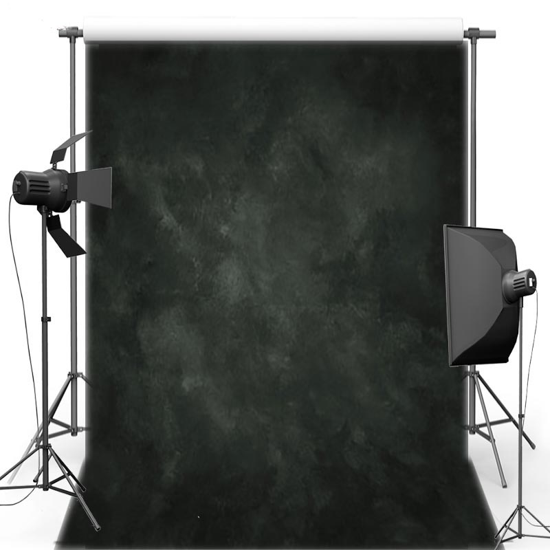 Black solid Vinyl Photography Background For Wedding New Fabric Flannel Texture Backdrop For Love photo studio MH100