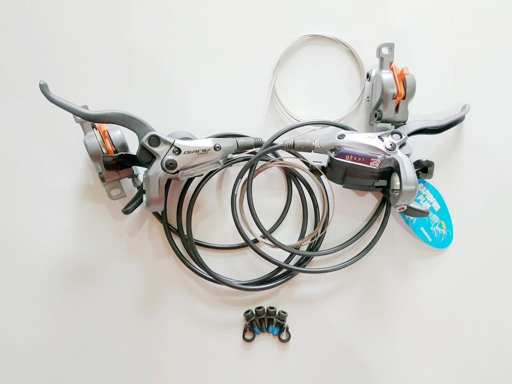 Shimano ALIVIO M4050 ST-M4050 3x9 vitesses hydraulique STI manettes de vitesse jeu de frein à disque