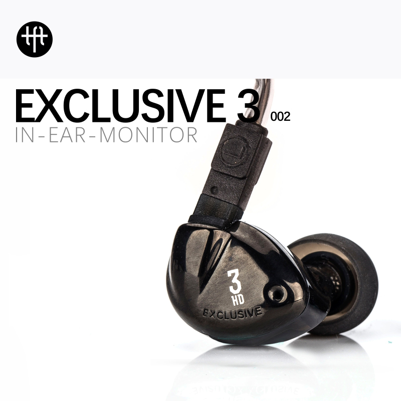 The Fragrant Zither TFZ EXCLUSIVE 3 Ear Hook Wired Earphone HIFI Earphones Monitor Headset 9 MM Portable Noise Cancelling 2017 original awei es q3 headset noise isolation bests sound in ear style hifi earphones for phone mp3 mp4 players 3 5mm jack