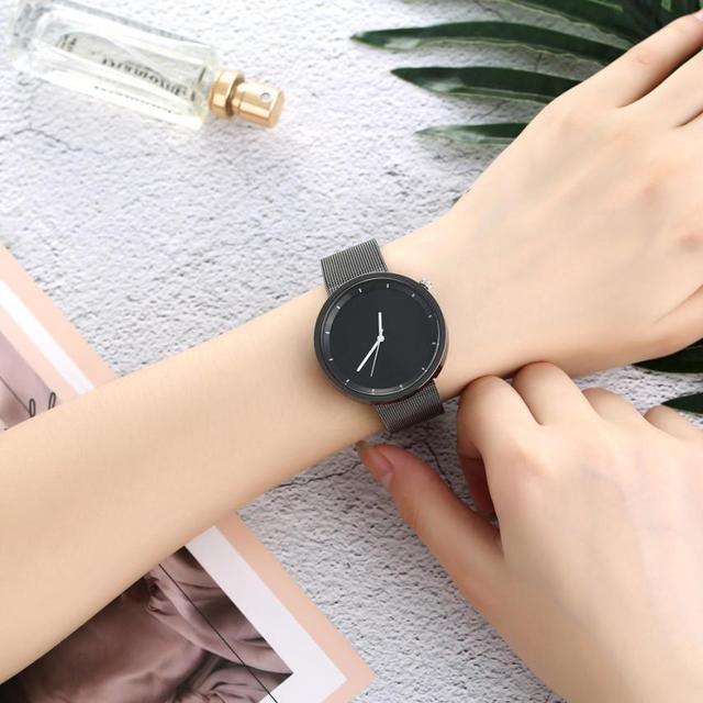 2018 השיש רצועת גבירותיי שעוני יד מזכרות שקט יפה נשים של קוורץ שעון טמפרמנט אופנתי פשוט יד שעון # D