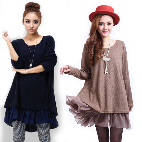 949eba1f275 Detail Feedback Questions about Maternity Dresses New Bow Chiffon Clothes  for Pregnant Women Casual Girls Dress Long Sleeve Plus Size 4XL Women s  Clothing ...