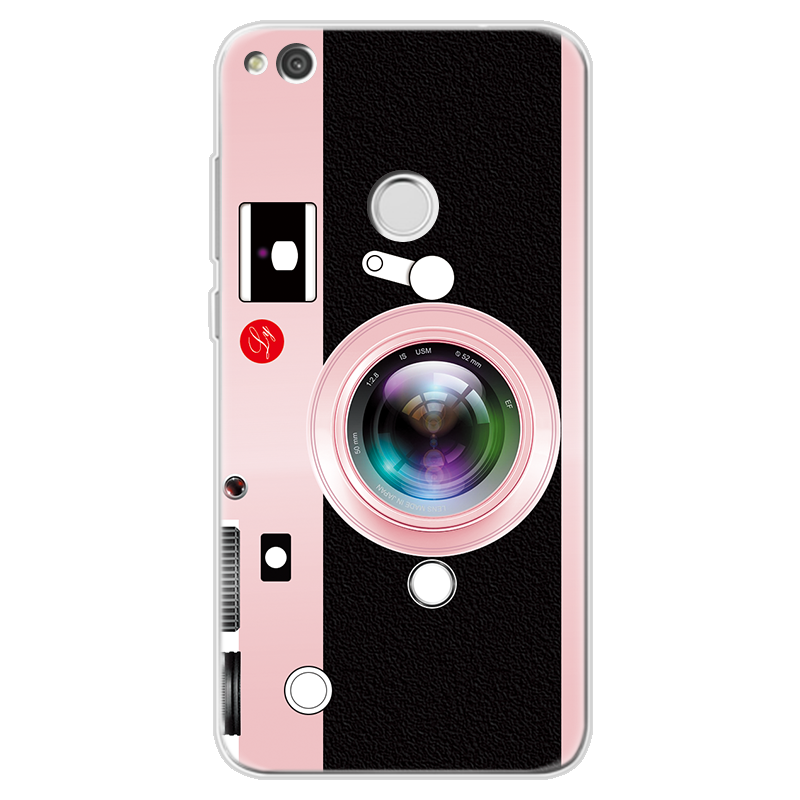 3D Camera Case for Huawei P20 Pro P8 P9 P10 Lite Y6 2017 Mini P Smart Nexus  6p G8 For Huawei Mate 20 Lite TPU Radio Coque Cover