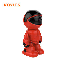 KONLEN WIFI IP Camera Robot Night Vision Audio Indoor Monitor 1080PInfrared Motion Detection For Home Security CCTV Surveillance(China)