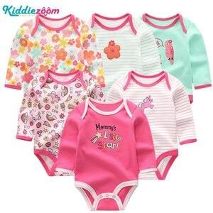 Image 2 - 新しい男の赤ちゃんロンパース服女の子遊び着幼児ジャンプスーツ長袖ベビー服の夏の少年 roupas デパジャマベベ服