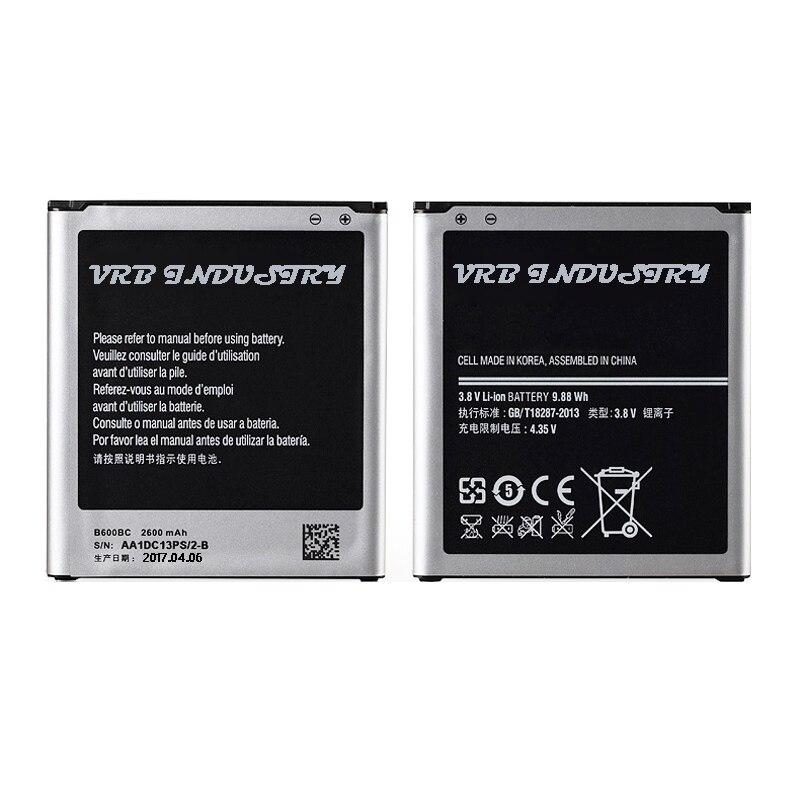 imágenes para 20 unids 2600 MAH B600BE teléfono móvil Li-ion Batería de Reemplazo Para Samsung galaxy S4 i9295 Activo i9505 i9502 i9508 freeshipping