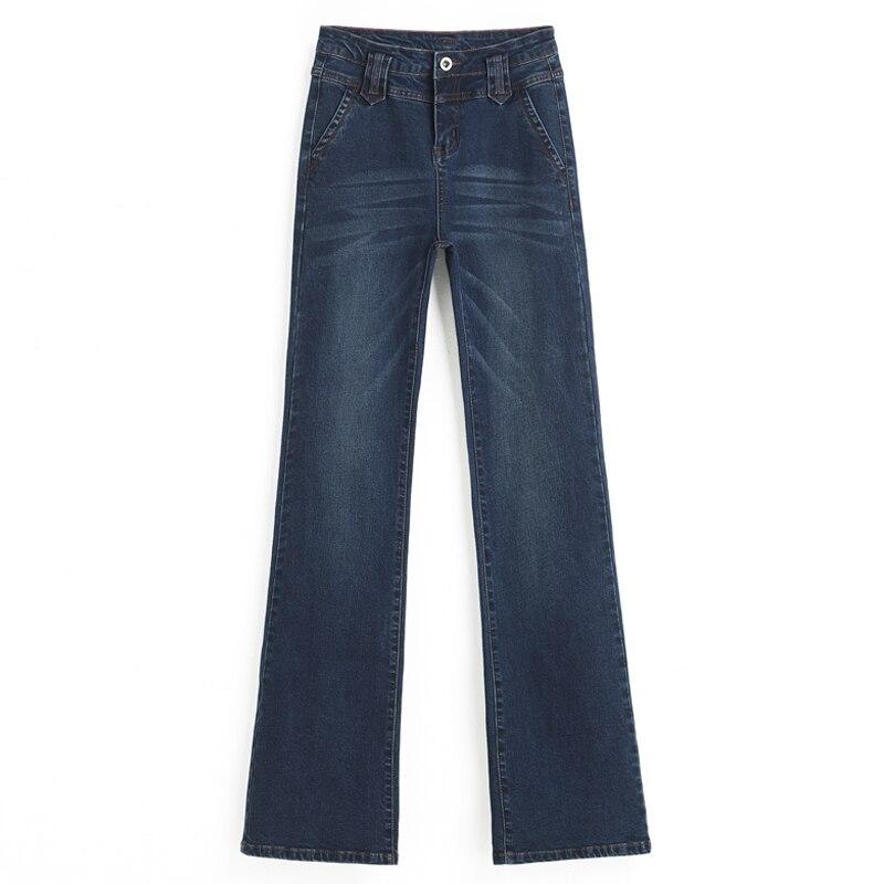 Tamaño Casual Mujeres p2 Primavera Adelgaza Mezcla Alta Algodón Cintura Jeans Hdl0802 Las Más Acampanados P1 Moda Denim Nueva Otoño De Pantalones Y xwf7Cqgw