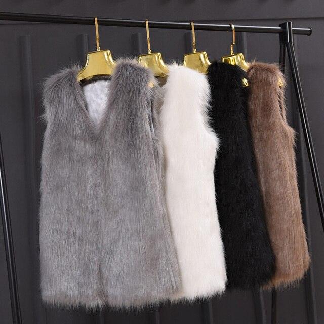 date automne de mode en fausse fourrure femmes dames sans. Black Bedroom Furniture Sets. Home Design Ideas