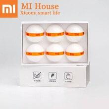 Xiaomi дезодорант обувной шар(6 упаковок) сохраняет свежесть портативный поворотный переключатель Mijia дезодорирующий Шариковый дезодорант