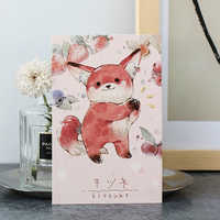 30 pcs/lot creative cute animal Card Postcard Birthday greeting card Letter Envelope Gift Card Set Message Card