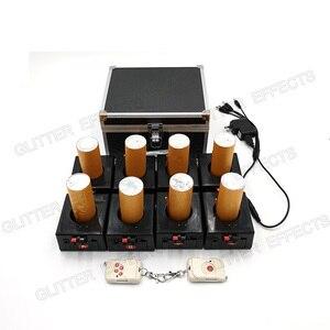 Image 2 - BD08 8 canali ricaricabile ricevitore doppio telecomando fontana di base della macchina del fuoco per la cerimonia nuziale