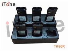 Itone 6-Way Battery Charger For Two way radio /Walkie Talkie/Portable Radio/Ham Radio For Motorola For ICOM For VERTEX