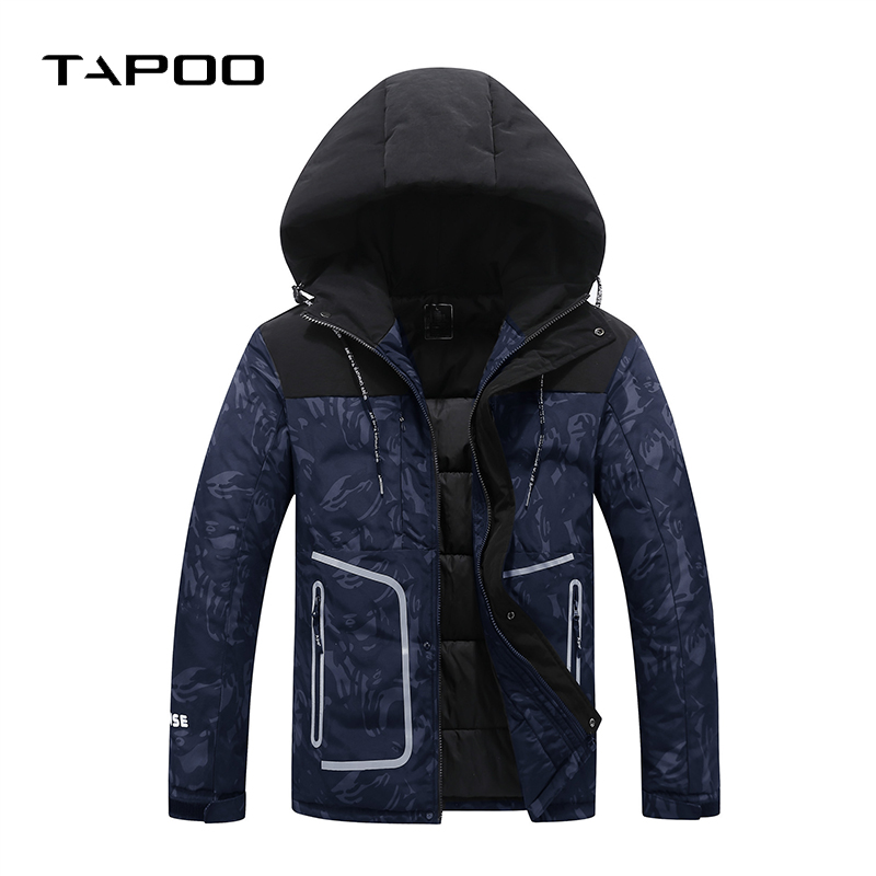 2018 Winter Coat Men Casual Warm Fur Hooded Cotton Jacket Mens Wnter Jackets And camo Male Thick Overcoat plus size M-8XL