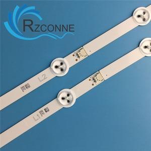 """Image 4 - מקורי LED תאורה אחורית רצועת מנורת עבור LG 50 """"ROW2.1 REV 0.4 50LN575S LC500DUE(SF)(U1) r2 U2 50LN5200 50LN5100 50LN5600 50LA6230"""