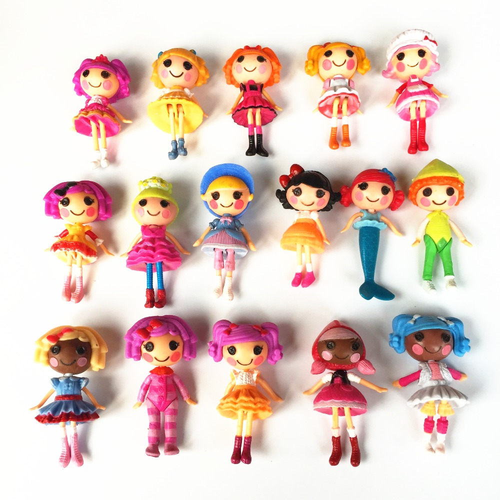 8pcs/lot New 8cm MGA Mini Lalaloopsy Doll The Bulk Button Eyes Toys For  Girl Classic Toys Brinquedos In Dolls From Toys U0026 Hobbies On Aliexpress.com  ...