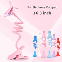 Universal Long Arm Lazy Mobile Phone Gooseneck Stand Holder Stents Flexible Bed Desk Table Clip Bracket For Elephone Coolpad