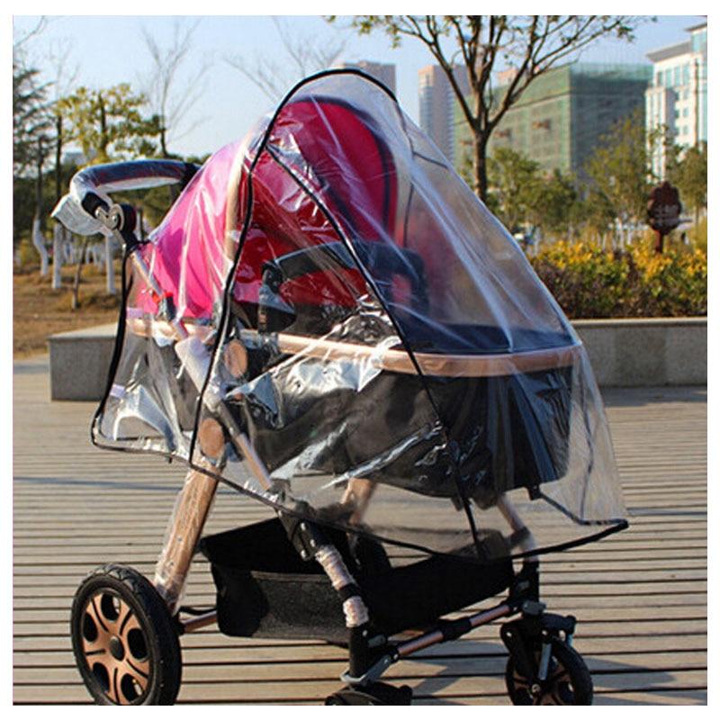 General High Landscape Baby Stroller Rain Cover Raincoat Baby Buggy Pram Rain Cover Stroller Accessories Baby Carrier Rain Gear camp rain stop baby