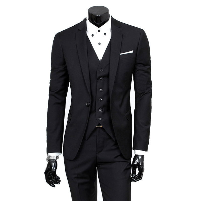 2 Piece Casual Suits Men