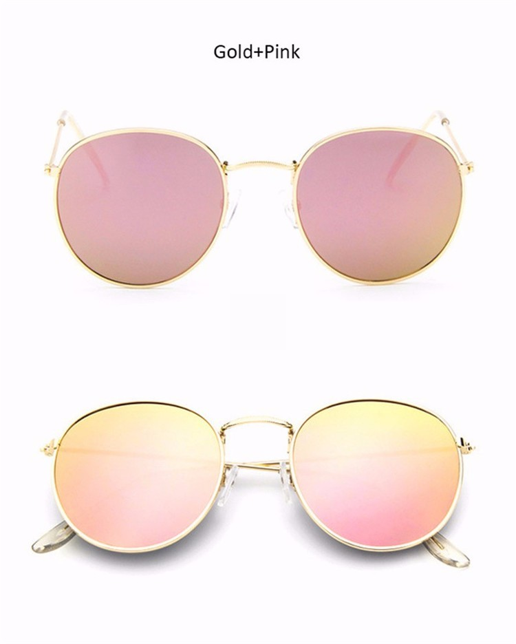 9806d503eac Dropwow Luxury Round Sunglasses Women Brand Designer 2018 Retro ...