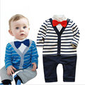 baby boy fashion long sleeve style 2017 New Fashion Solid baby boy clothing stripe suit kids clothes sets childs clothing sets