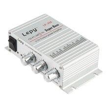 Lepy LP-268 12 V HiFi Audio Amplificateur HiFi Amplificateur Audio Stéréo Basse haut-parleur pour Auto Auto Moto Accueil PC Bateau MP3 MP4 Radio