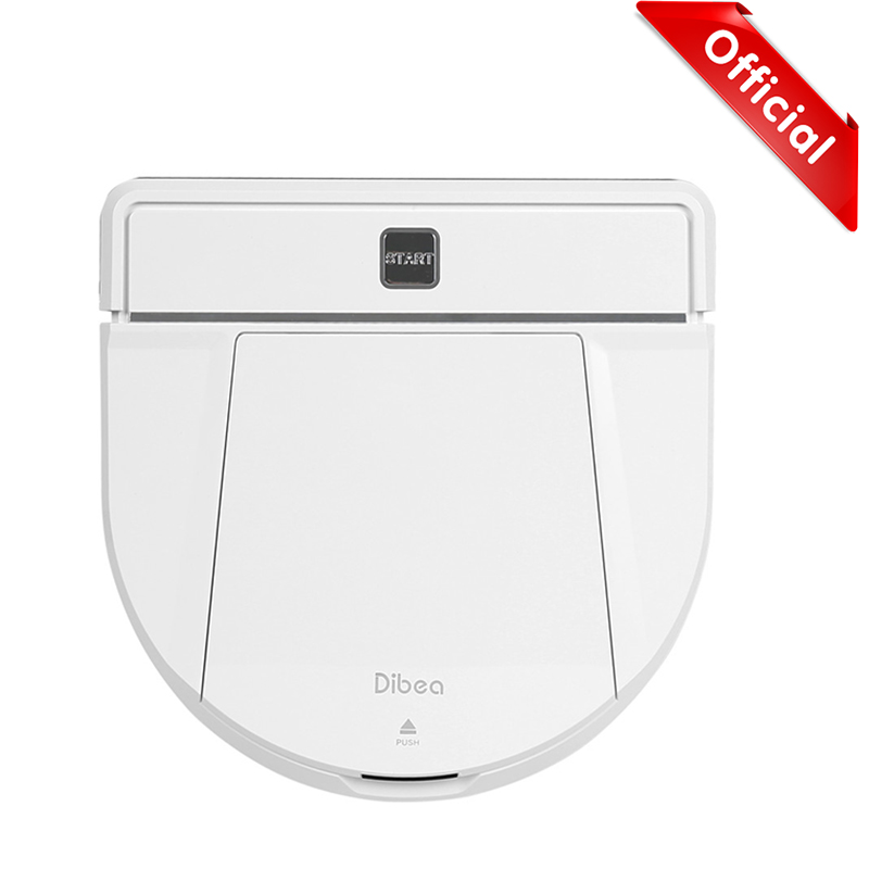 Dibea D850 Smart Robot Vacuum Cleaner With Wet/Dry Mopping Function Wireless Vacuum Cleaner Powerful Suction Cleaning Appliances remote control wet and dry function auto clean anti falling magnetic electric window cleaner robot