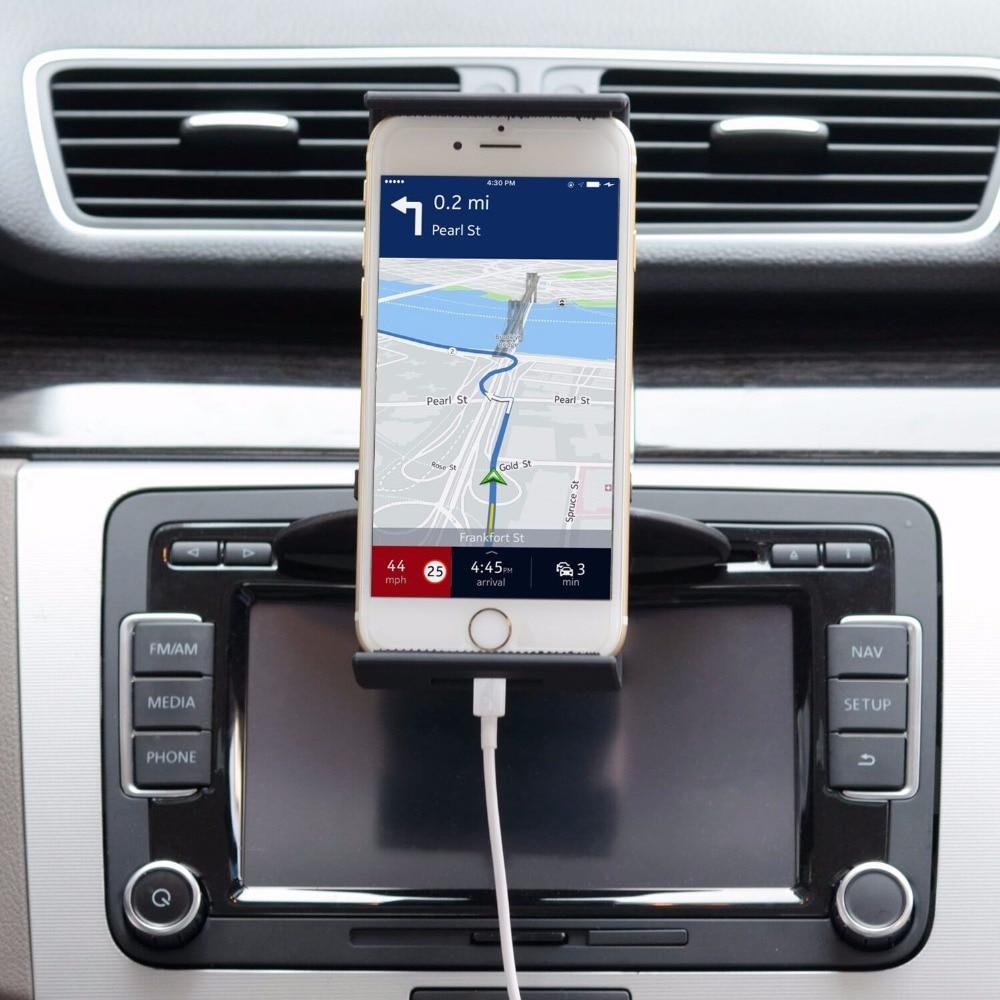 APPS2Car Universal 360 dərəcəlik CD Slot Tablet Dəstəkləmə - Avtomobil daxili aksesuarları - Fotoqrafiya 5