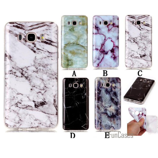 save off 66b1d 295dd US $3.59 28% OFF Phone Case For Samsung Galaxy J5 2016 Soft TPU Marble Back  Protective Cover Cases For Samsung J5 2016 J510 J510F 5.2 inch Bags-in ...