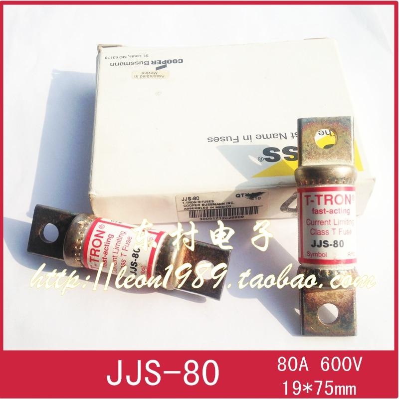[SA]United States BUSSMANN Fuse T-TRON fuse JJS-90 90A 600V JJS-80 80A