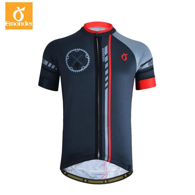 Pro Cycling Jersey Short Sleeve Bicycle Bike Clothing For Men Emonder Ropa Ciclismo Summer Quick-Dry Cycling Wear Clothes