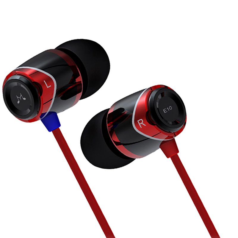 ФОТО Best Quality Sound MAGIC E10 In-Ear Earphone Earpiece Dynamic Noise Isolating Stereo Music Hifi Headphone for iPhone Android