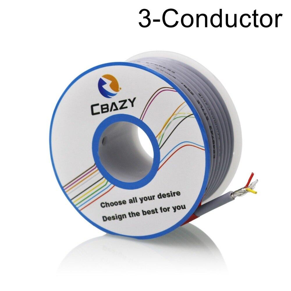 3C Grey 6M UL 2547 26 AWG Multi core control cable copper wire ...