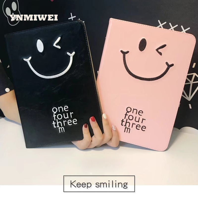 YNMIWEI For Ipad 2 Case Universal For Ipad 3/4 Cover 9.7 Inches Tablet Protective Leather Case Cartoon Pattern Shell A1459 A1395