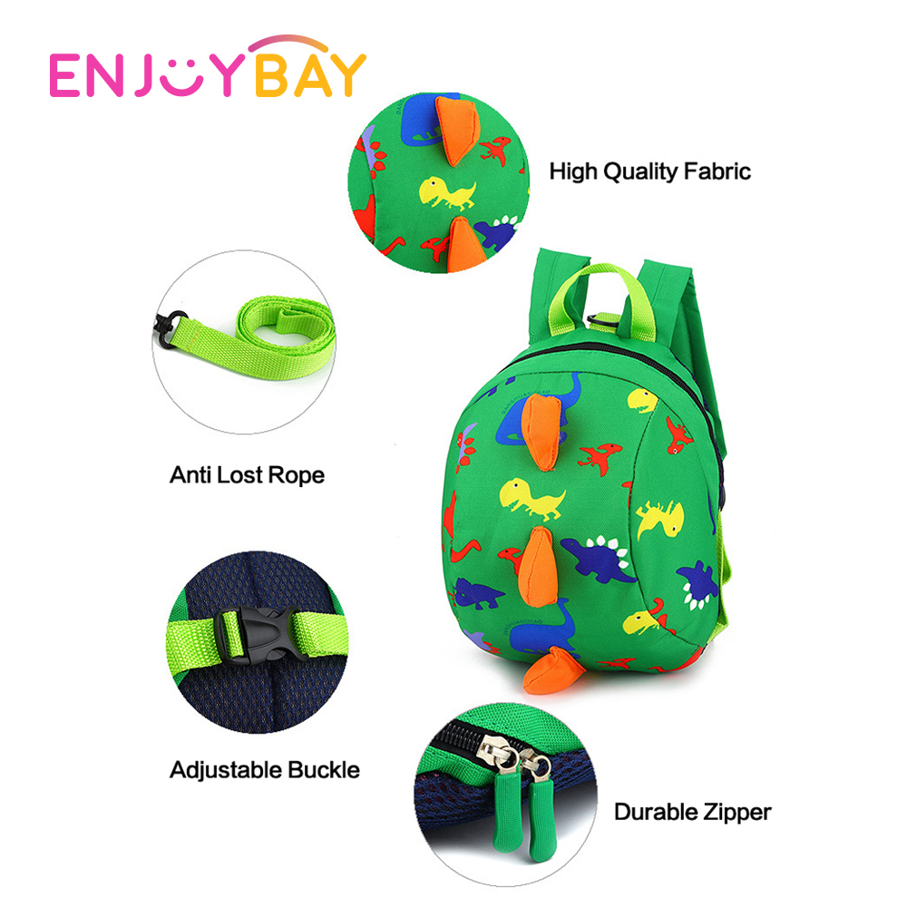 Capable Brand New 2018 Pudcoco Newest Arrivals Cute Toddler Kids Cartoon Dinosaur Adjustable Backpack Bag Anti-lost Schoolbag Back To Search Resultsmother & Kids