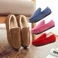 Марка Дизайн Новый Год Рождество Uinisex Женщин Пара Матч Обирается Обувь, Теплая Зима Вождения Крытый Обувь Мокасины