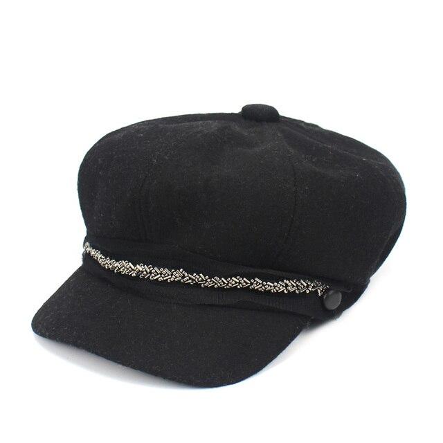 Lady Berets Hat Winter...
