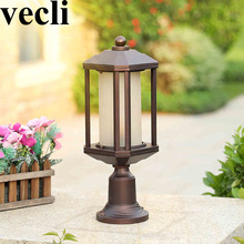 Europe style balcony luminaire exterieur waterproof sunscreen residential villa corridor outdoor post light fixtures