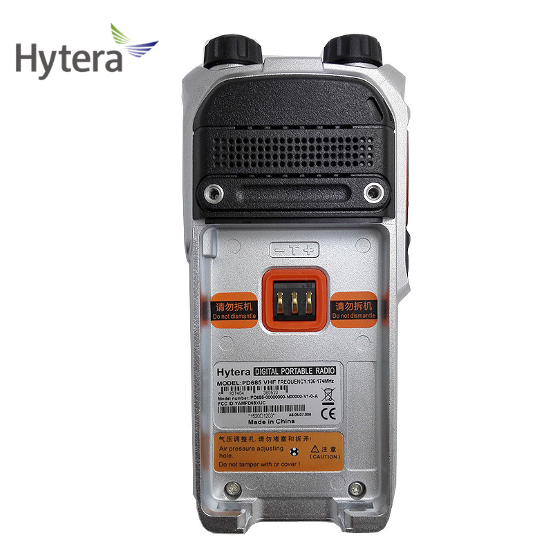 Hytera uhf vhf DMR portable Tow way radio PD680/PD685/PD688