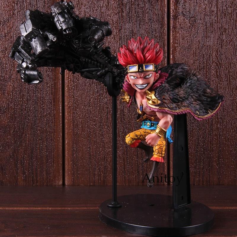 One Piece Eustass Kid Figure with BOX 18cm Anime Action Figurine Toy Doll PVC