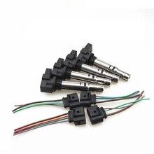 ZUCZUG 4 Sets Spark Plug Ignition Coil Cabl For VW Passat Jetta CC Polo Golf Caddy Beetle Tiguan Touran 036 905 715F 036905715G