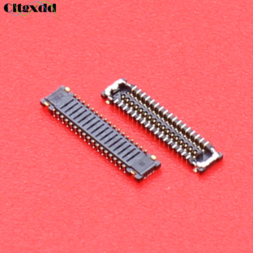 34Pin 34 Pin FPC Connector Port Plug Showing Display For Xiaomi 4 M4 Mi4 Logic On Motherboard Mainboard