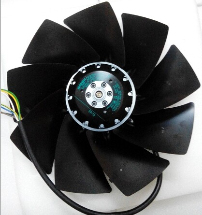 Ebmpapst A2D250-AI02-01 Cooling Fan Size 250x 83mm 230/400 V AC 1845m3/h 2950rpm Air Flow Fan