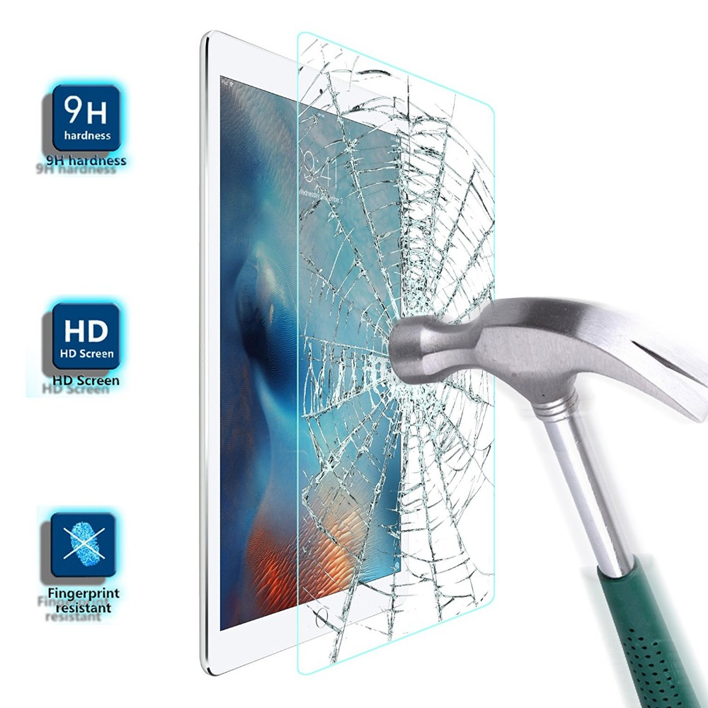 Kaljeno staklo za Apple iPad 2 3 4 Zaštita zaslona 9H Premium - Dodaci za tablet - Foto 1