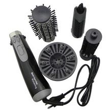 Multi Function 4in1 hair dryer rotating brush Rotate Styler Roller hair brush hairbrush comb drying straightening Beauty Tools