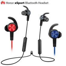 Original Huawei Honor xSport Bluetooth Headset AM61 IPX5 Waterproof BT4.1 Music Mic Control Wireless Earphones for Android IOS(China)